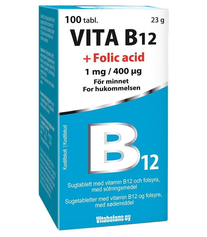 b12 folsyra brist